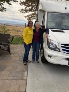 Kana & mom RV